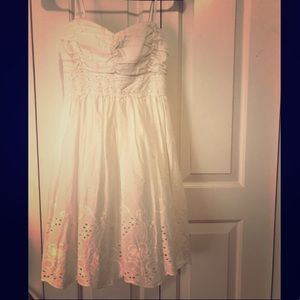 Trixxi white dress.